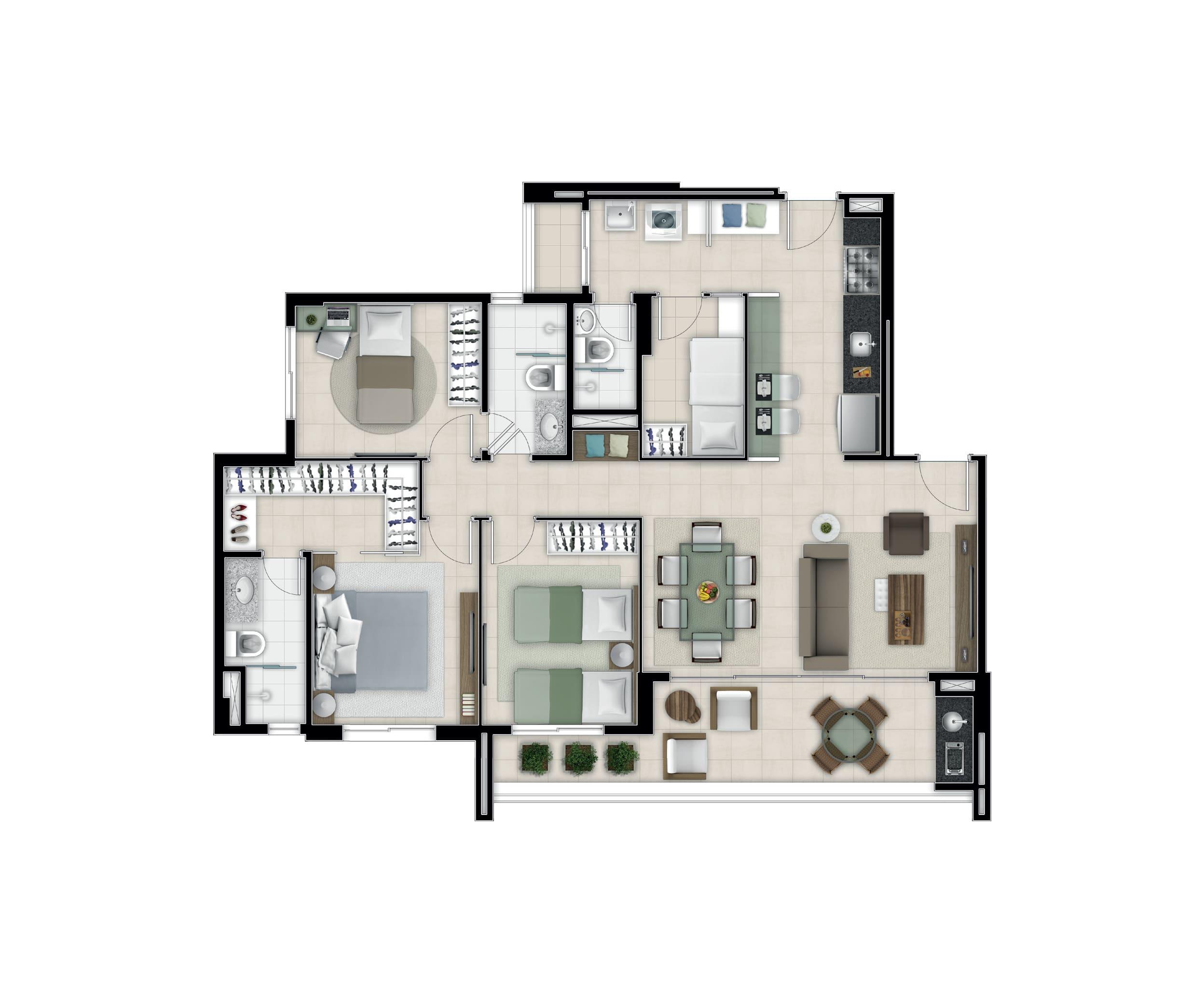 MARZZANO 100,39M²